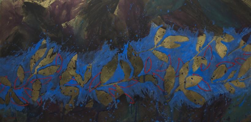 Peinture d'effeuillage LXXII 2014 97/195