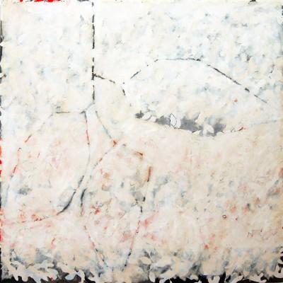 Peinture d'effeuillage blanc I 2008 150/150