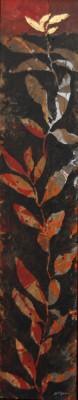 Peinture d'effeuillage XXXIX 2013 110/22