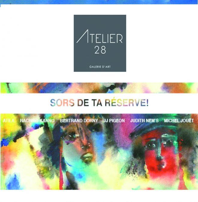 Oeuvres en réserve Galerie28 Lyon