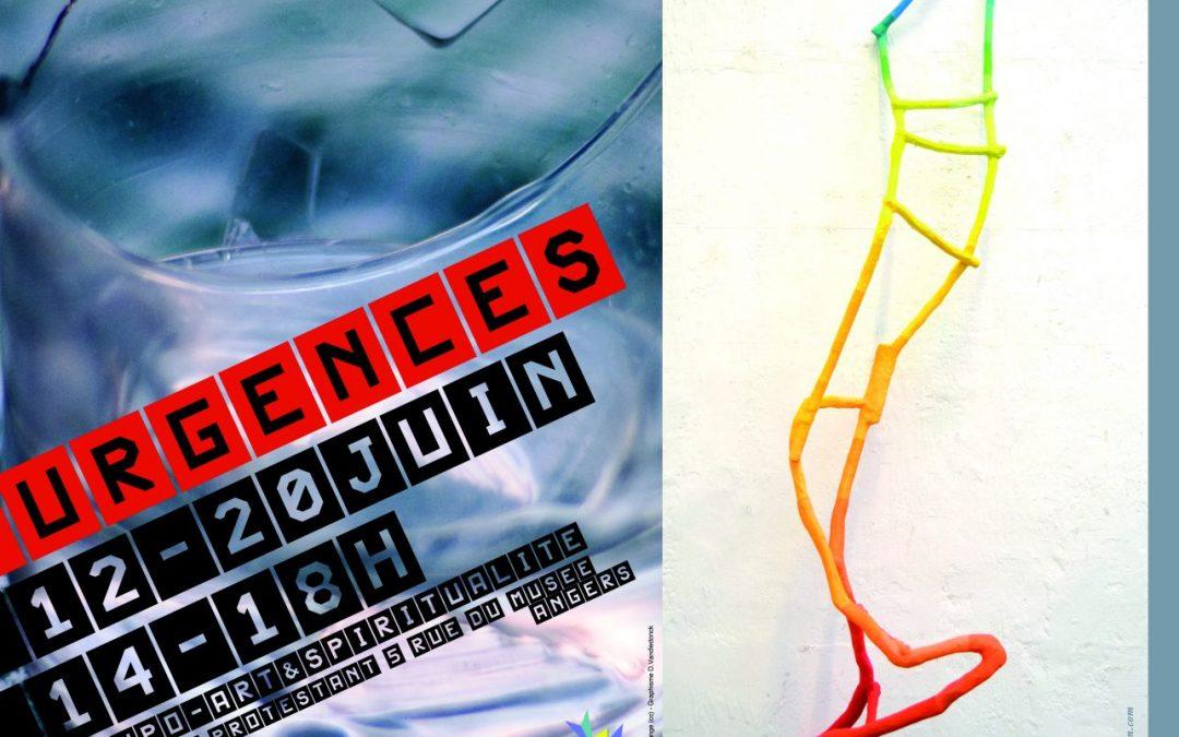 «Urgences» exposition  Angers juin 2020